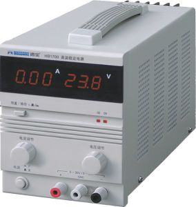 Digital Display Single Output Adjustable DC Stabvilized Power Supply pictures & photos