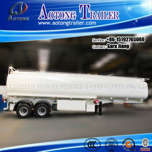 2/3 Axles Carbon Steel Material Fuel Tank Trailer for Sale pictures & photos