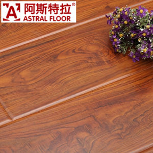 8mm High Gloss Laminate Flooring Am5504 (U-Groove) pictures & photos