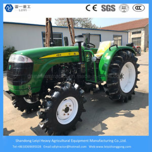 40HP 4WD Agricultural Wheel/Farm/Mini Farming/Garden/Lawn/Compact/Small/Tow Tractor with 3 Point Link pictures & photos