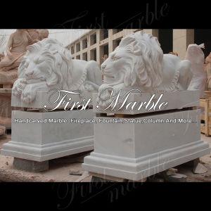 Metrix Carrara Lion Sculpture for Home Decoraton Ma-534 pictures & photos