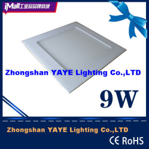 Yaye CE/RoHS SMD 9W Square LED Panel Light with Factory Price pictures & photos
