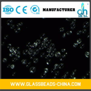 Good Quality Transparent Round Smooth Dh-Pw-850600 Glass Media Blasting pictures & photos