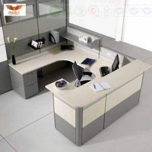 Fsc Forest Certified Latest Single Office Design Space-Saving Cubicle with Partition Wall pictures & photos