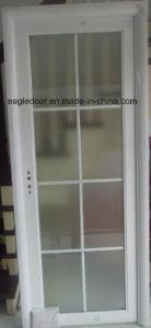 Real Photo White Aluminum Bathroom Door (EA-1004) pictures & photos