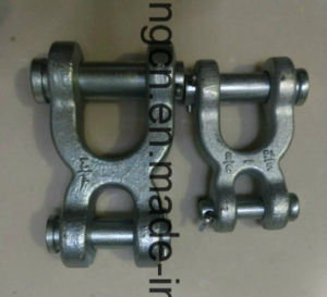 Painted X Shape Double Clevis Chain Link pictures & photos