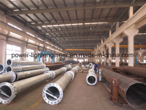 Steel Single Camera Support Poles pictures & photos
