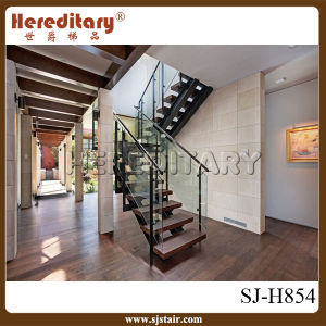 Elegant Design Glass Staircase for Indoor Decoration (SJ-H854) pictures & photos