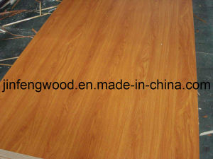 100% Fresh Poplar Wood 1220*2440mm (BSL H9016 teak) E1/E2 China Origin Melamine Laminated MDF Board, Particle Board pictures & photos