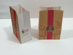 Printed Kraft Paper Food Bag pictures & photos