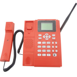 Red Color GSM Desktop Phone (KT1000-130C) pictures & photos