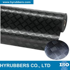 Anti-Slip Checker Pattern/Runner Rubber Mat Roll Flooring pictures & photos