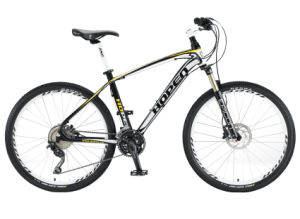 "New Popular Aluminum Mountain Bicycle, 26"" 30sp, Black"