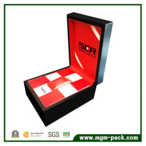 Famous Brand Swiss Wooden Watch Box with Leather pictures & photos