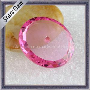 Pink Color Big Size Pendants Loose Cubic Zirconia pictures & photos