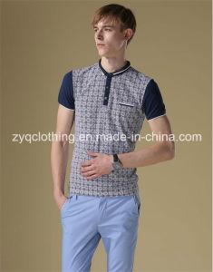 Polo T-Shirt, Lycra Small Collar Polo T Shirt pictures & photos
