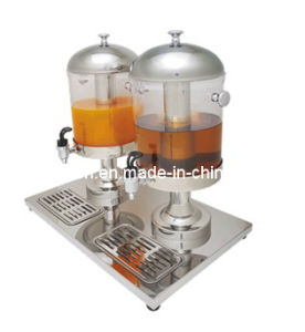 Hotel/Restaurant Juice Dispenser for Keeping Juice (GRT-ZCF302B) with 2 Tanks pictures & photos