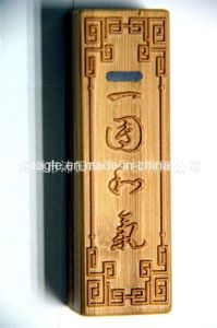Bamboo Mobile Power Thin Wooden Power Bank pictures & photos