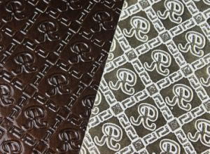 Embossed PU Leather (TG009) pictures & photos