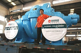 Double Suction Double Stage Centrifugal Pump pictures & photos