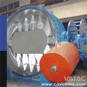 Wafer Ends Butterfly Valve with Counter Weight pictures & photos
