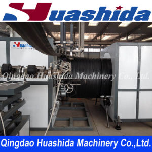 HDPE Double Wall Steel Reinforced Winding Pipe Extrusion Line pictures & photos
