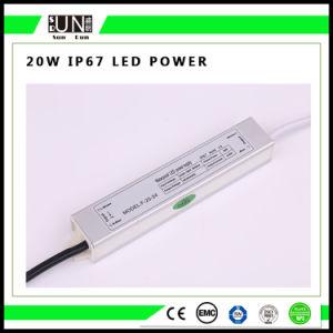 20W Constant Voltage IP65 IP65 12V/24V Waterproof LED Power Supply, Waterproof Power Supply pictures & photos