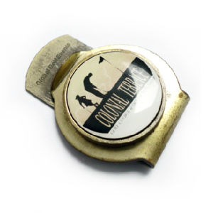 Custom Golf Hat Clip with Printing Ball Marker, No MOQ pictures & photos