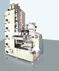 Rtry-520e 5 Color Adhesive Label Sticker Printing Machine in Ruian pictures & photos