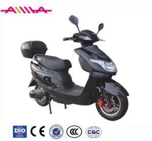 EEC 1500W High Power Electric Motorcycle with Cargo Box pictures & photos