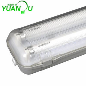 IP65 T8 Weatherprof Light Fixture (YP8218T) pictures & photos