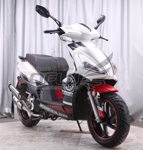 EEC/EPA DOT Approved Gas Motor Scooter Equipped with 4 Stoke 50cc Engine (RT YY50QT-9(4T)) pictures & photos
