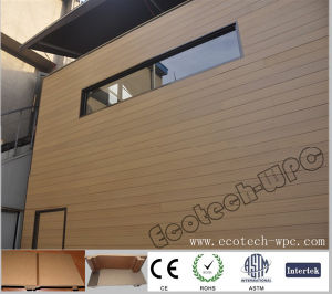 Wood Grain WPC Composite Wall Panel (156S21) pictures & photos