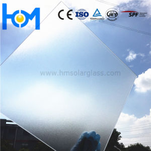 3.2mm/4.0mm Tempered Arc Clear Low Iron Solar PV Safety Flat Sheet Glass pictures & photos