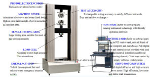 Wdw-100 Computer Control Electronic Universal Testing Machine with High Temperature furnace pictures & photos