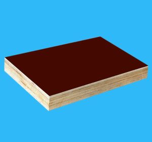 Plywood Board with Brown Film for Construction Formwork pictures & photos