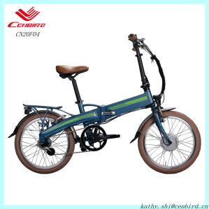 Hidden Battery Folding Electric Bike for Kids (CN20F04) pictures & photos