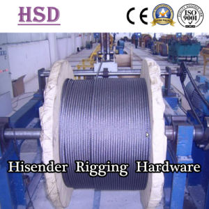 E. Galvanized Wire Rope Sling for Lifting with Certificate pictures & photos