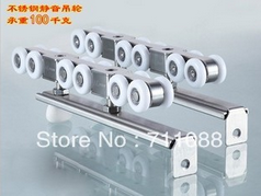 Stainless Steel Door Hanger, Rail Pulley Nylon Wheel pictures & photos