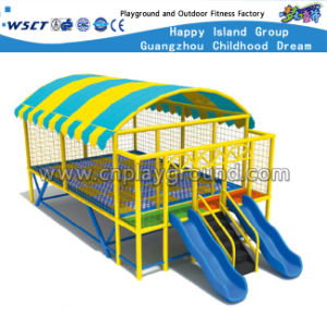 Round Colorful Trampoline Outdoor Playground Trampoline with Roof (M11-10402) pictures & photos