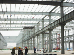 Prefab Multi-Storey Steel Structure Workshop (KXD-SSW7) pictures & photos