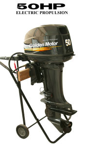 Golden Motor Electric Outboard Motor 50HP pictures & photos