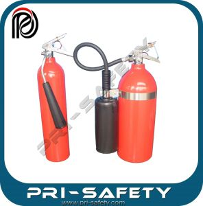 Portable 4.5kg Aluminium Alloy Carbon Dioxide CO2 Fire Extinguisher