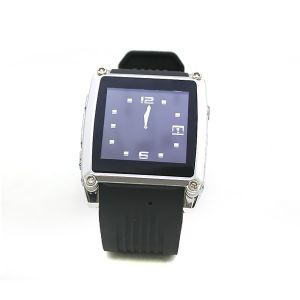 Stylish Mq668 1.5 Inch TFT Touch Screen Wrist Watch Phone with MP3/MP4/FM Camera Bluetooth
