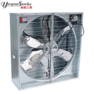 Poultry House Ventilation Fan Wall Mounted Shutter Box Fan pictures & photos