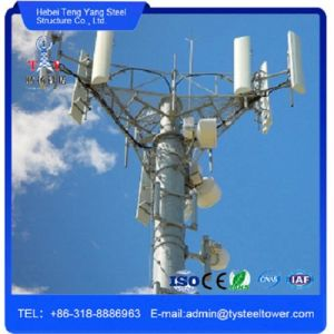 WiFi Galvanized Single Pipe Telecom Steel Tower Monopole Pole pictures & photos
