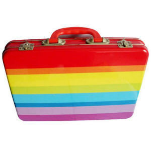OEM Design Colorful Tin Lunch Box pictures & photos