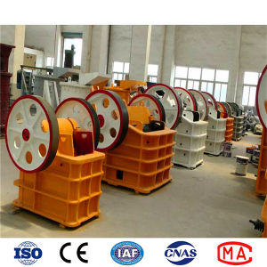 High Efficiency PE Series Stone Jaw Crusher Machine for Stone Crushing pictures & photos