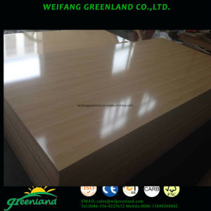 Plian or Melamine MDF/ Laminated MDF with High Density pictures & photos