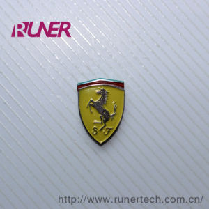 Electroform Nickel Logo Sticker for Auto Industry pictures & photos